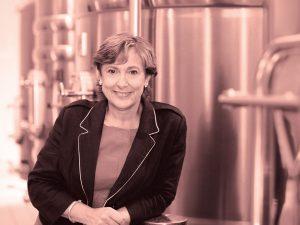 Portrait de Sylvie Cazes, directrice de la Cité du Vin