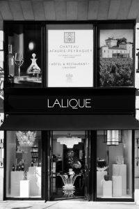 devanture de la boutique Lalique à Bordeaux