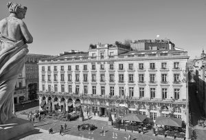 Façade du Grand Hotel de Bordeaux