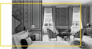 Suite prestige de l'intercontinental-grand Hotel à Bordeaux