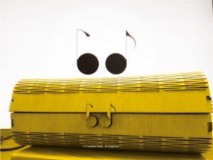 Boite à lunettes iris et octave