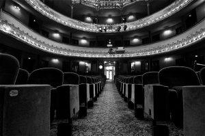 Salle du Théâtre Antoine à Paris appartenant à Jean-Marc Dumontet