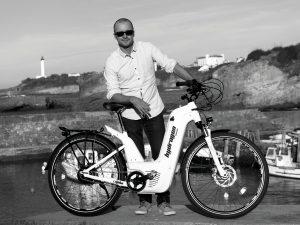 vélo à hydrogène à Biarritz